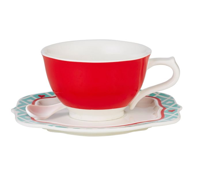 Anna Gare Lady Luck Teacup and Saucer