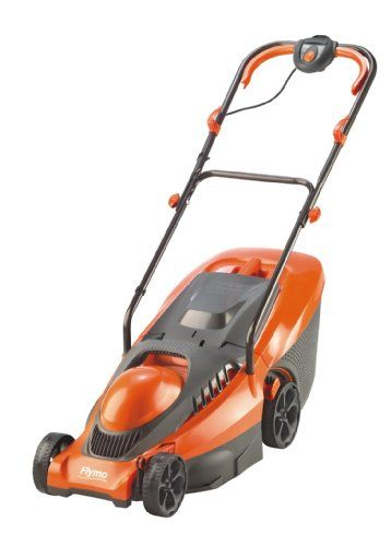 buy now   									£66.95 									  									Powered by a 1400 watt motor, your Flymo Chevron 32VC will cut through the grass with ease, thanks to the 34cm metal cutting blade. Your preferred grass  ...Read More