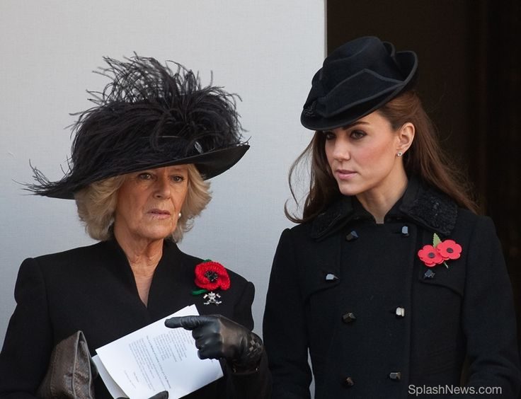 The Duchess of Cornwall (Camilla) and The Duchess of Cambridge (Kate)