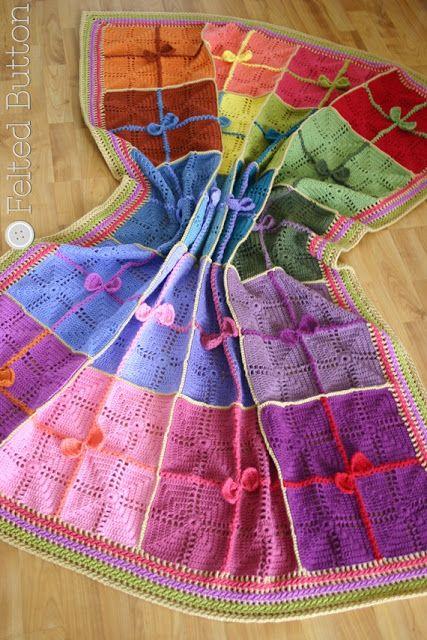 Gifted Blanket Crochet Pattern