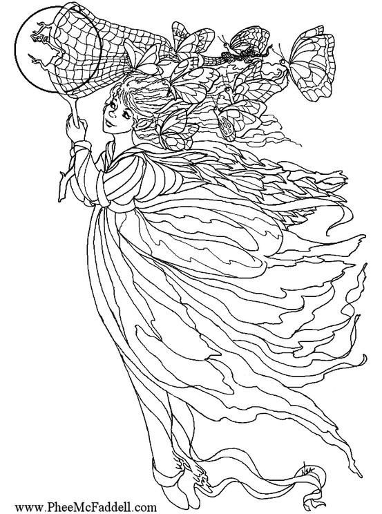 17 Best images about Fairy coloring sheets on Pinterest ...