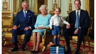 The Roy    THE ROYAL FAMILY  FOUR GENERATIONS AND QUEENS 90 TH BIRTHDAY
