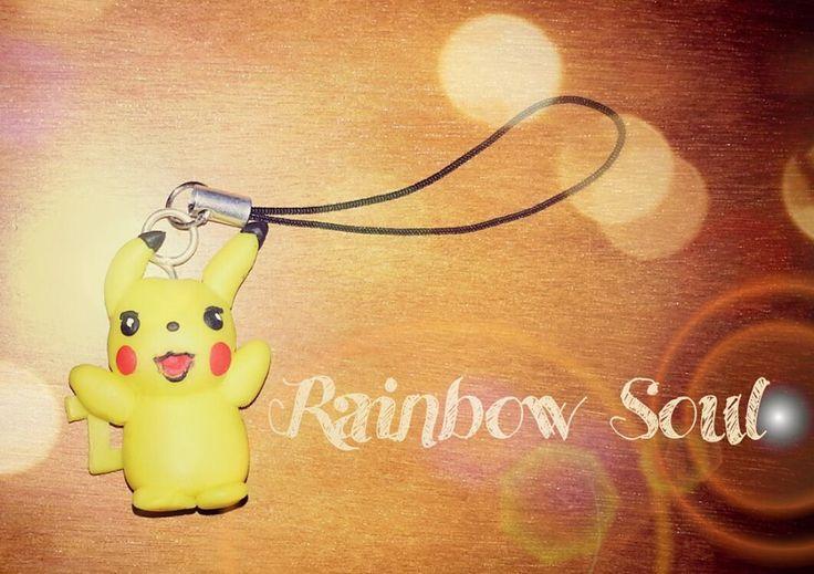Ciondolo per cellulare Pikachu °w°