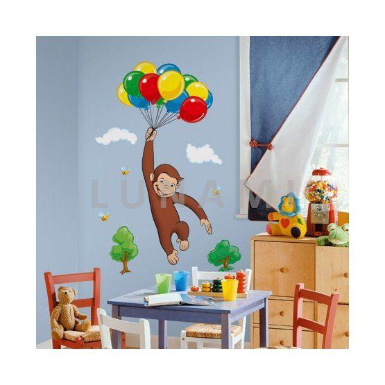 Dětské samolepící obrázky do pokoje. Dekorace pro holčičky i chlapečky.