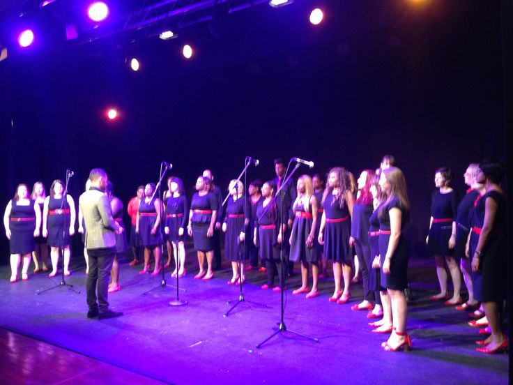Artistic Director Byron Gold performing his beautiful song I Am with the amazing Stratford East Singers.