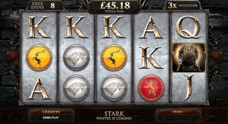 Game of Thrones Online Slot - Euro Palace Casino