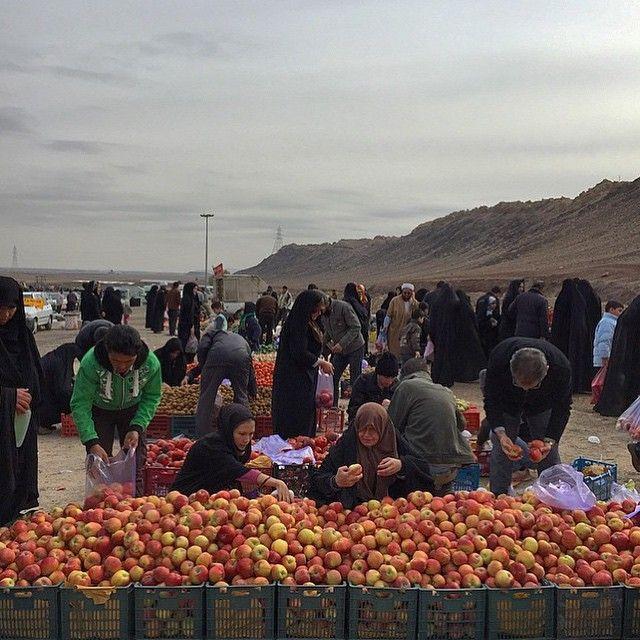 A fruit market in #Qom, #Iran. Photo by Ahmad Abdi @ahmadabdi_s #everydayqom
