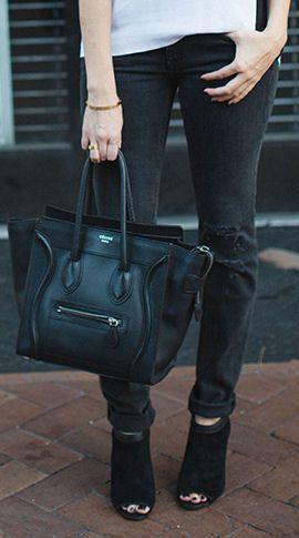 Celine Bag & Ankle Boots ♥