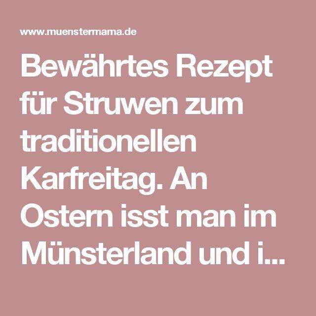 Bewährtes Rezept für Struwen zum traditionellen Karfreitag. An Ostern isst man im Münsterland und in Münster diesen leckeren in Öl ausgebackenen Fladen aus Hefeteig. Mit Rosinen oder ohne?