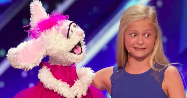"12-Year-Old Ventriloquist Blows Away 'America's Got Talent'  Before performing on Tuesday's ""America's Got Talent,"" a nervous and giggly Darci Lynne Farmer told the judges that she ""would really like to keep ventriloquism alive because it's not common, you know?""  The 12-year-old from Oklahoma City then did her part in a big way. As Farmer provided the skillfully hidden vocals, her puppet rabbit Petunia belted out a dazzling ""Summertime."" The duo earned wows from the panelists and host Tyra…"