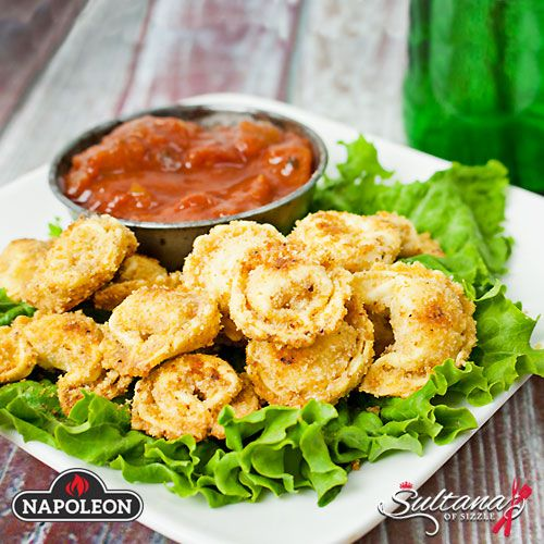 asty Tortellini is a super easy and very tasty snack or appetizer that everyone will love. #bbq #snacks #gameday #napoleongrill #recipe