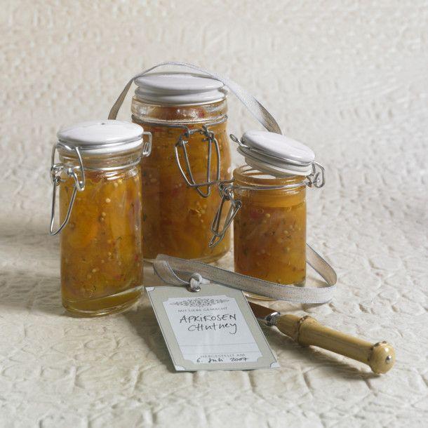 Unser beliebtes Rezept für Aprikosen-Chutney mit Koriander und mehr als 55.000…