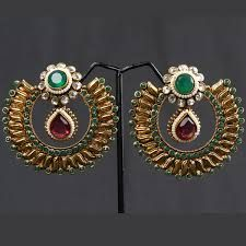 Image result for chand bali earrings gold online