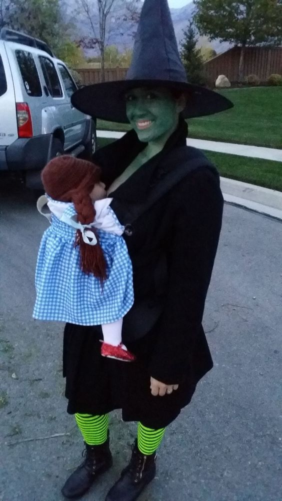 Dorothy and the Wicked Witch of the West.
