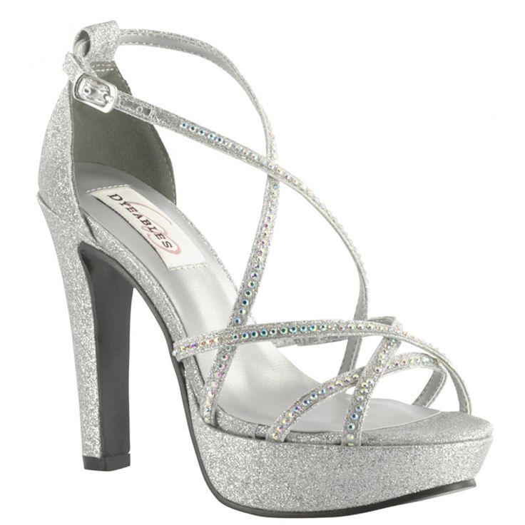 Wedding Silver Heels: 44 Best Platform Bridal Shoes Images On Pinterest