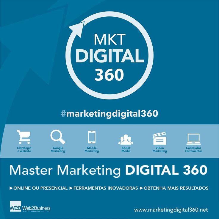 Vai começar o Master Marketing Digital 360, com modalidade online ou presencial, proporcionando um programa único e ferramentas inovadoras, para que de uma forma simples e prática, possa obter mais resultados no seu negócio. #marketingdigital360 #marketingdigital  ►Veja o vídeo que explica como funciona: www.marketingdigital360.net/blog/video-de-apresentacao-master-marketing-digital-360