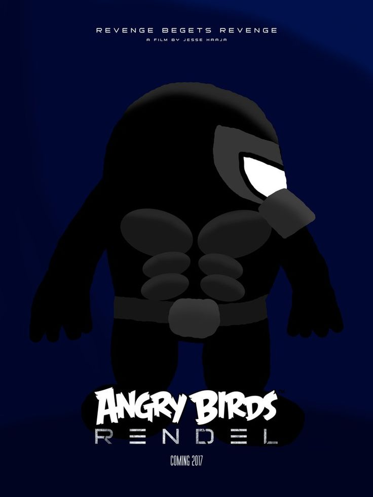 Angry Birds Rendel - Poster 4 by Alex-Bird.deviantart.com on @DeviantArt