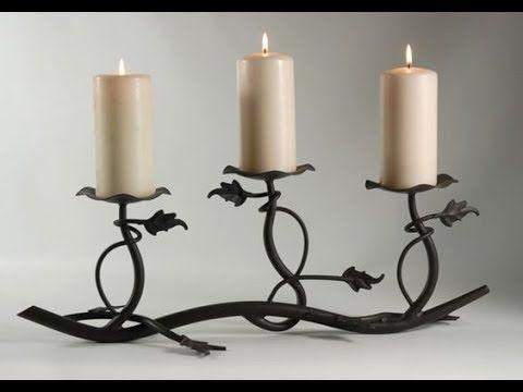 M s de 25 ideas incre bles sobre candelabros de hierro - Portavelas de hierro ...
