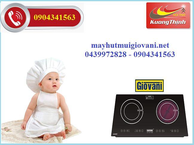 Địa chỉ cung cấp bếp điện từ Giovani uy tín: