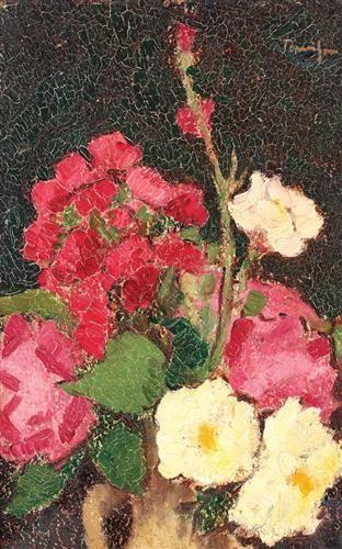 Vase with Summer Flowers - Nicolae Tonitza