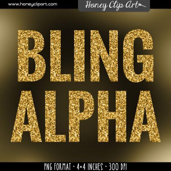 Shape Diamond Art Clip Gold