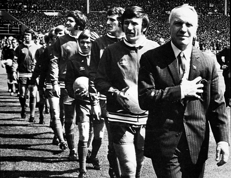 Leading the Reds out at Wembley