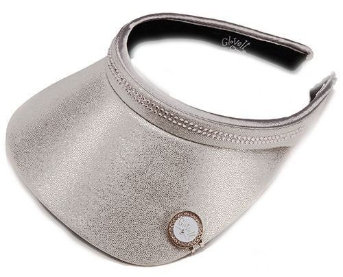Check out what #lorisgolfshoppe has for your days on and off the golf course: Silver Bling Glove It Ladies Bling Golf Visor
