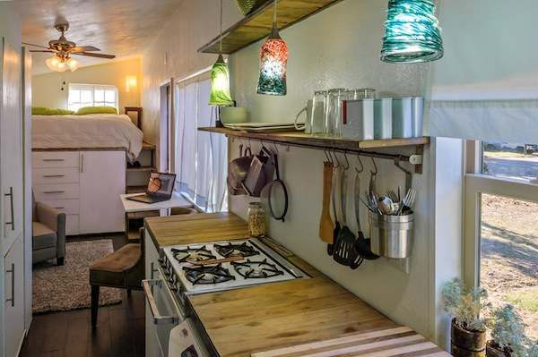macy millers diy mortgage free tiny house 007   Woman Builds her own DIY 196 Sq. Ft. Micro Home for $11k