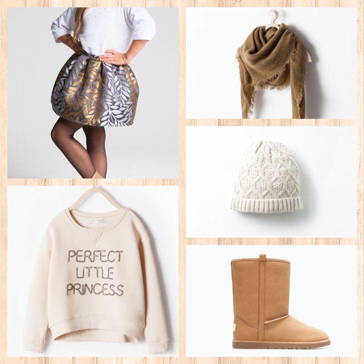 Little Pricess - stylizacja do naszej spodniczki SILEN✌️ Www.stoneskirts.pl