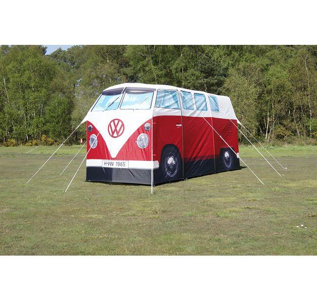 VW Bulli Zelt Rot