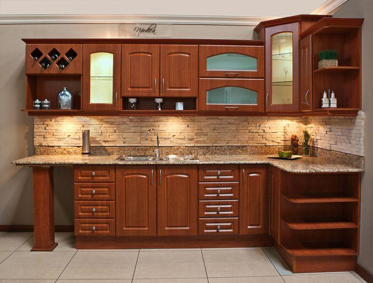 La cocina Estoril PVC es una amalgama de belleza, versatilidad y calidad en todos sus detalles. #SuCocinaNuestraPasión #EstiloDeVidaElegante