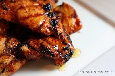 Spicy Honey Chicken.