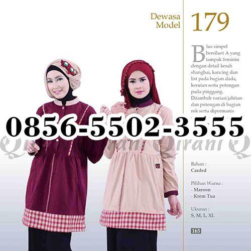 Gamis Qirani Couple, HP.0856-5502-3555,
