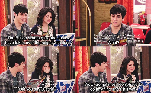 Wizards of Waverly Place-Alex & Justin