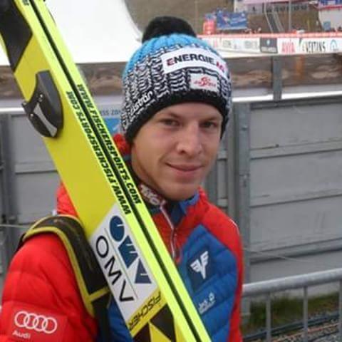 Michael Hayböck, WC Klingenthal 2014. ©ME  @michaelhayboeck  Dankeschön! :-) #skispringer #skijumper #michaelhayboeck #skijumping #skispringen #teamaustria #österreich #klingenthal #fun