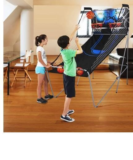 MD Sports 2-Player Arcade Basketball Game. The MD Sports 2-player Arcade Basketball game is a perfect game for the entire family. It's designed for one or two players and allows you to choose from eight different game play options. | eBay!