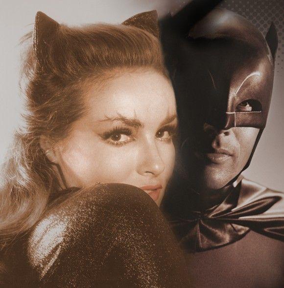 Batmman-CAtwoman - Julie Newmar/ Adam West