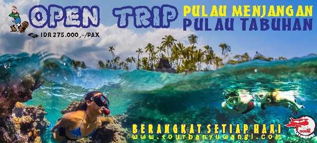 open trip menjangan tabuhan, pulau tabuhan dan menjangan, pulau menjangan dan tabuhan, wisata pulau menjangan, pulau tabuhan banyuwangi