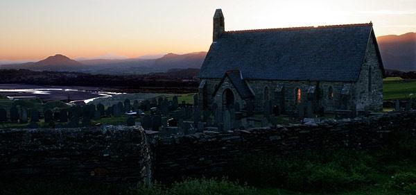 Llandecwyn church, Llandecwyn, Talsarnau, Gwynedd