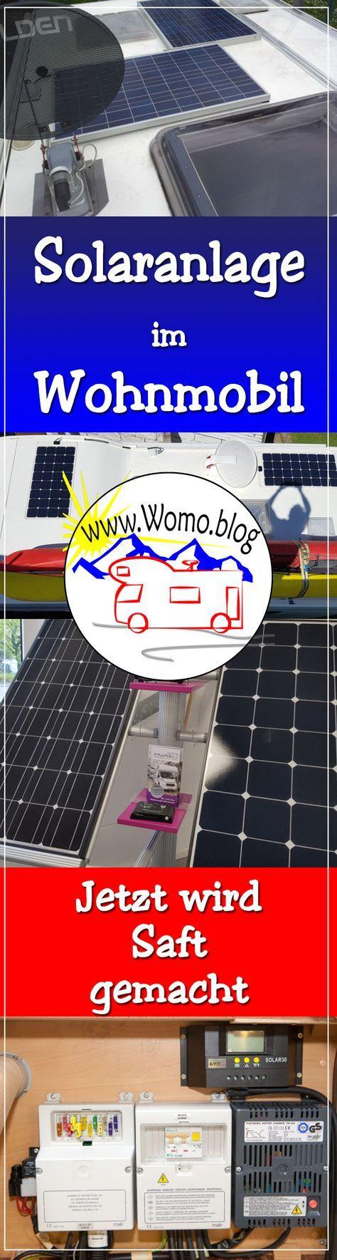 Solaranlage ins Wohnmobil einbauen ist gar nicht schwer. So wird es gemacht.