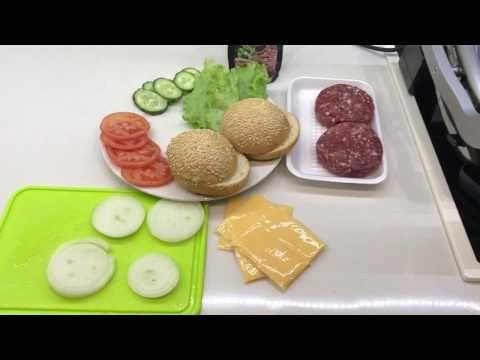 Гамбургер за 15 минут в OptiGrill от Tefal - YouTube