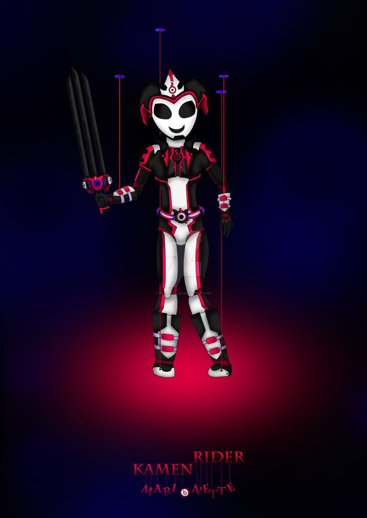 Here is a Kamen Rider I made called Kamen Rider Marionette.