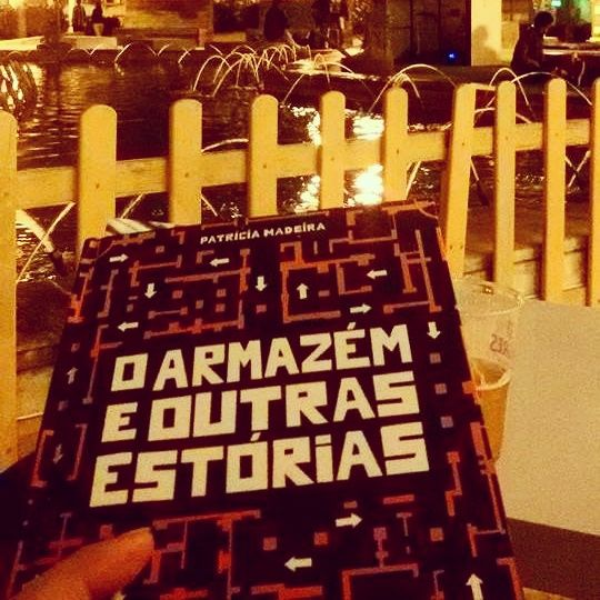 Loving the pictures that readers of O Armazém e Outras Estórias/The Warehouse and Other Stories are sending of their reading experiences. This time the book went for a beer with friends in Martim Moniz Square, Lisbon. Thanks for sharing, Saule! #oarmazemeoutrasestorias