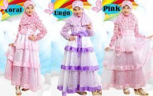 Gamis Anak Terbaru November 2014 - Gamis Anak terbaru Murah - Model Baju Gamis Anak Terbaru - Model Baju Gamis Anak Perempuan - Desain Baju Gamis Anak.