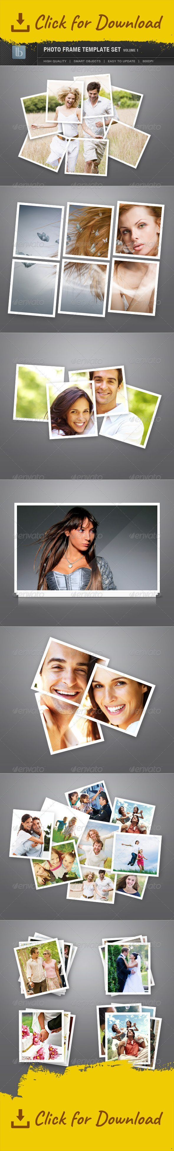 creative, display, frame, frames, layered, mockup, modern, photo, photo frame, photo set, photos, photoshop, portfolio, presentation, psd, scattered, stylish, templates                     Photo Frame Template Set | Vol 1 Display your beautiful photos with these stylish photo frames!  This package contains 10 different photo frame templates. Smart objects were used so everything is very easy to update, simply paste your image and your done! All of them are high-resolution 300 dpi so can be…