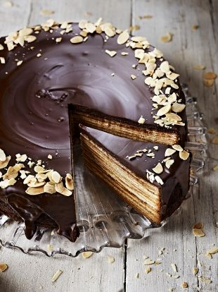 Baumkuchen | Chocolate Recipes | Jamie Oliver