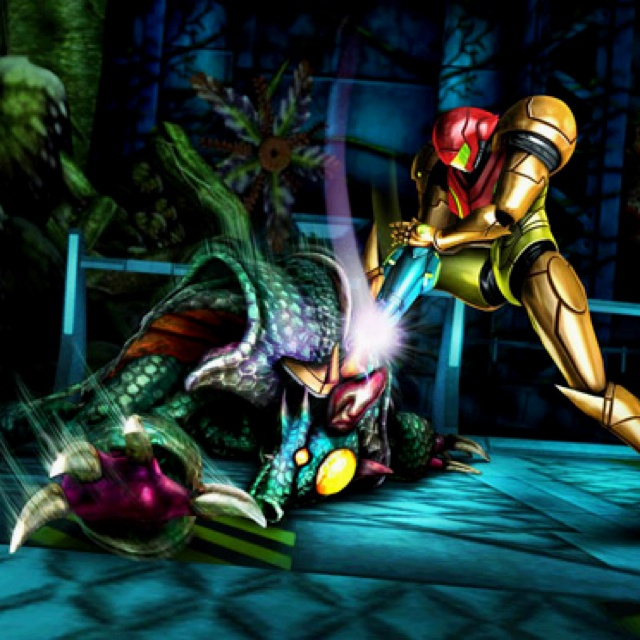 Samus Aran in Metroid Other M