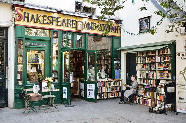 Shakespeare and Company. My favourite bookshop. Paris.