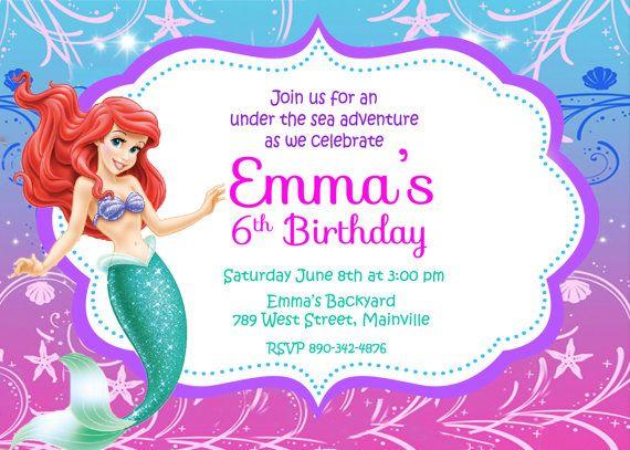 He sirenita encontrado este interesante anuncio de Etsy en https://www.etsy.com/es/listing/190088172/little-mermaid-ariel-partido-invitacion