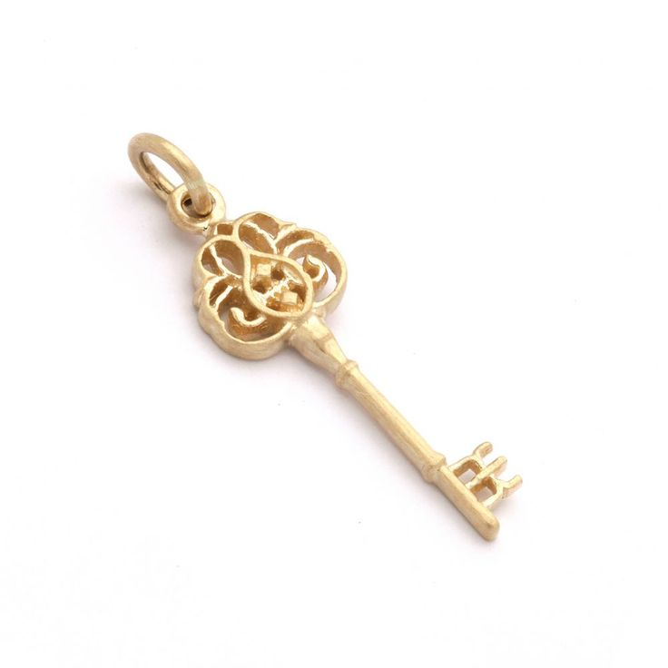 I love this key, I have it and it symbolizes many things. Kinz Key in 14 carat gold. Jewelry, Danish design. NSK